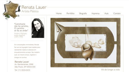 Renata Lauer, Fine Artist